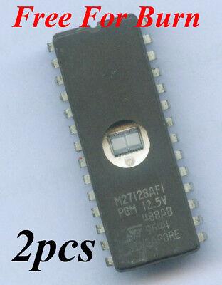 Fujitsu MBM27128-25 MBM27128 27128 128KBIT UV EPROM GOLD DIE X 1pc