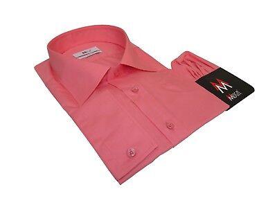 100% Vero Slim-fit Camicia, Fazzoletto Con Tg 3xl Arancione Salmone-mostra Il Titolo Originale Acquista Ora