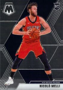 Nicolo Melli RC 2019-20 MOSAIC Base Rookie Card #216 New Orleans Pelicans NBA