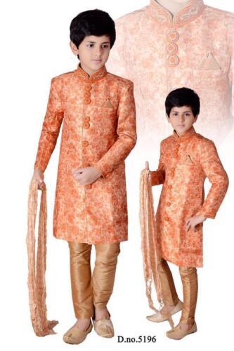Kids Children Indo Western Kurta Pyjamas Sherwani Boys Suits