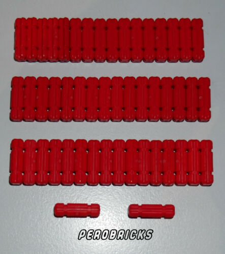 Lego Technic Tecnica 50 Croce 2lang Rosso #32062