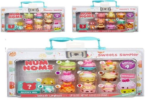Toy Play Gift Num Noms Series 4 Sweets Sampler Dessert Tray Lunch Box Ages 4