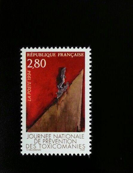 1994 France National Drug Addiction Prevention Day Scot