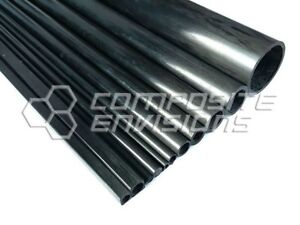 Details about Carbon Fiber Pultruded Round Tube 12mm OD x 8mm ID x 1 2m