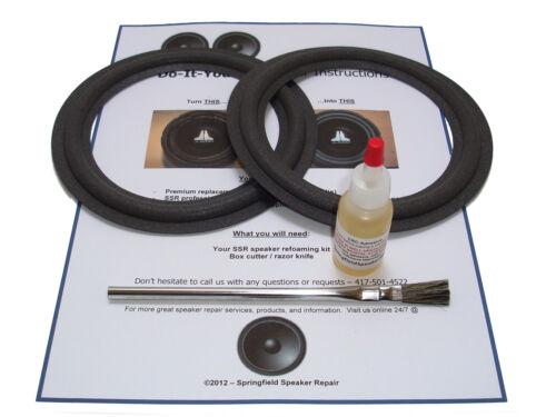 Infinity RS-2000 SS-2002 Speaker Foam Surround Repair Kit 2A65-m053 RS-2001