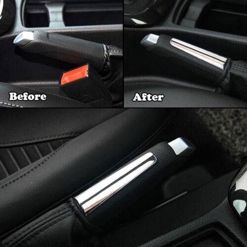 Chrom Handbremse Dekoration Abdeckung Trim Für Ford Focus Mk2 Mk3 2012-2018