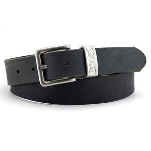 Levi-039-s-NUOVO-da-uomo-Cintura-in-pelle-2-Cavallo-Nero-NUOVO-con-etichetta