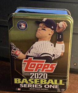 2020 Topps Series 1 EMPTY Tin Aaron Judge - Yankees - Storage / Collectible