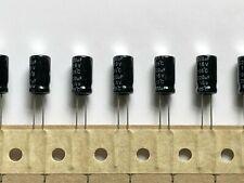 10PCS 220uF 16V Electrolytic Capacitor 6.3x7mm 105C new l8