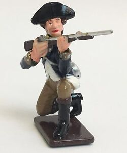 AMERICANA-Revolutionary-War-Continental-Soldier-1-32-Painted-Metal-FREE-SHIP