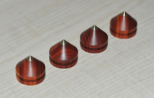 4x-High-Quality-Improved-Absorber-Spikes-Isolierung-for-Luxman-turntable