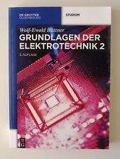 Grundlagen der Elektrotechnik 2 von Wolf-Ewald Büttner (2014, Taschenbuch)