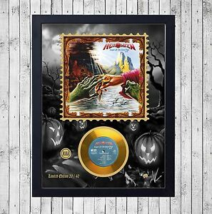 HELLOWEEN-KEEPER-PART-2-CUADRO-CON-GOLD-O-PLATINUM-CD-EDICION-LIMITADA-FRAMED