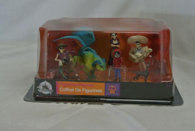 Disney Magasin Coco Figurine Ensemble de Jeu 6 Set Topper Gâteau Neuf avec Boîte