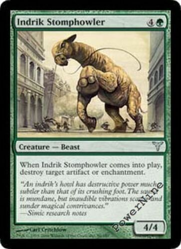 Green Dissension Mtg Magic Uncommon 4x x4 4 PLAYED Indrik Stomphowler