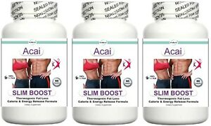 3-Fat-Burner-Energy-Boost-Diet-Pills-Training-Aid-Lean-Muscle-Stomach-Fat-60s