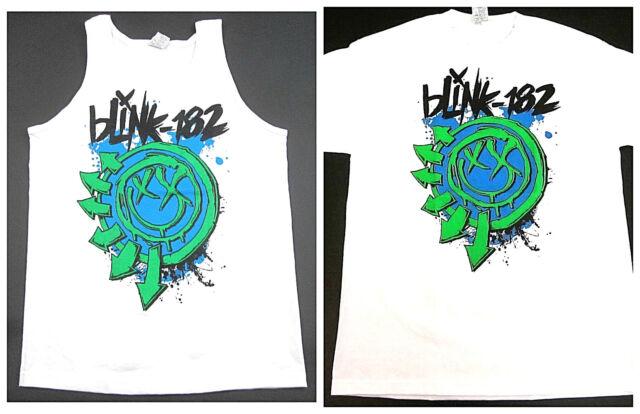 Official Mens Blink 182 T Shirt T-Shirt Tee Top Short Sleeve Crew Neck