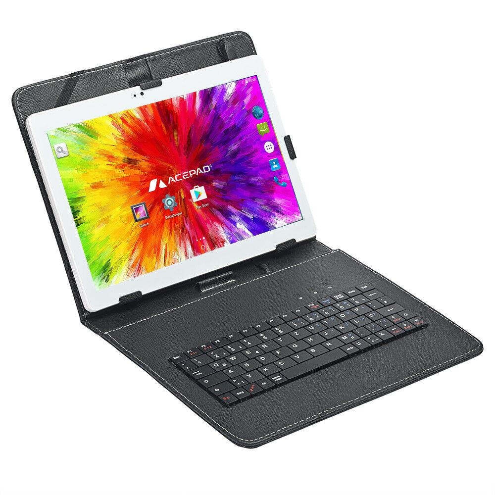 Weiß mit Tastaturtasche