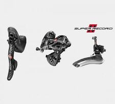 2017 Campagnolo SUPER Record Kit Group 3pc 11s: Ergo, Front & Rear Derailleur