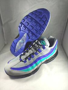 Details about Nike Air Max 95 OG AT2865 001 Aqua Wolf GreyBlack Indigo sz 10 $170 Retail