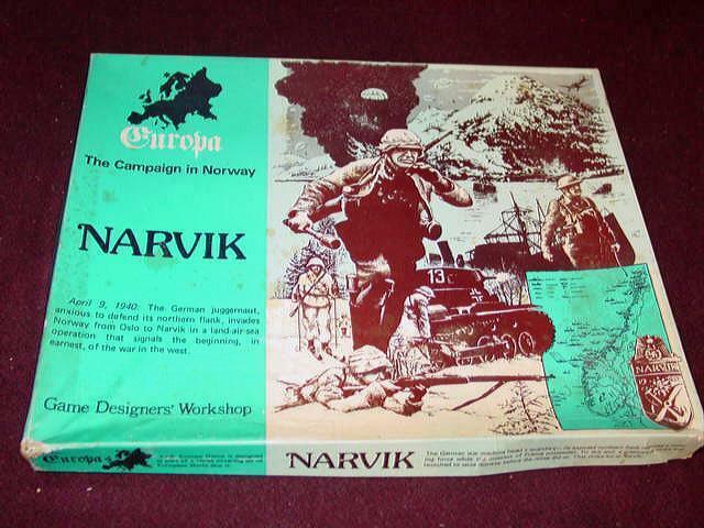 GDW 1980-Europa-Narvik-la campaña de Noruega (ENLOMADOR)