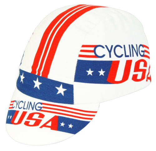 CYCLING USA TEAM CYCLING CAP NEW BIKE RIDE HAT **