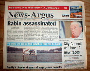 Image result for israel's prime minister rabin assassinated