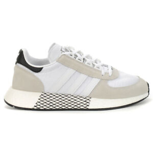 Adidas Unisex Marathon Tech Cloud White/Cloud White/Core Black Shoes EE4925 NEW
