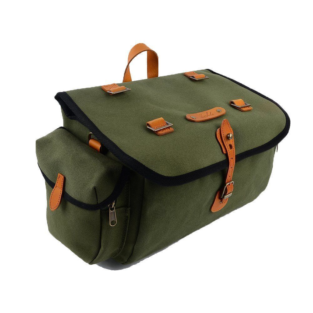 Zimbale Bicycle  Waterproof Canvas Saddlebag 16 Liter  most preferential