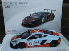 1//18 Peako Mclaren MP4-12C GT3 Macau GP 3rd Place Gulf Marine Free shipping