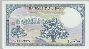 1988-100-Livres-Banknote-Lebanon-UNC-Pick-66D