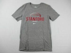 NEW-Nike-Stanford-Cardinal-Gray-Cotton-Short-Sleeve-Shirt-Multiple-Sizes