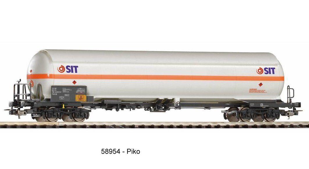PIKO 58954-stampa gaskessel vagoni-sit FS-AC RUOTE-Corrente alternata NUOVO