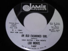 Lou Monte: An Old Fashioned Girl / She's Got To Be A Saint 45