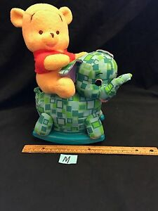 673bdff4116e Fisher Price Disney 2001 Ride Along Pooh Nursery Musical Toy Winnie ...