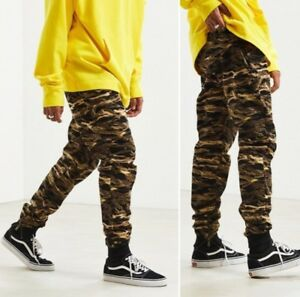 8bd5faefa1fb Puma XO CAMO Canvas Pants Joggers THE WEEKND Men s Size SMALL ...