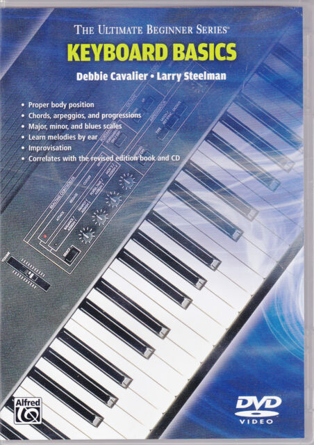 LEARN TO PLAY PIANO OR KEYBOARD BASICS FOR BEGINNERS DVD
