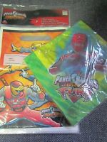 Power Rangers Jungle Fury Party Napkins Ninja Storm Party Treat Bag Sack Lot