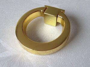 Dresser Knobs Pull Ring Drawer Knob Pulls Cabinet Door Knobs Gold ...