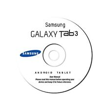 Samsung Galaxy Tablet Tab 3 8.0 (Wi-Fi, model SM-T310) User Manual on CD (eBook)