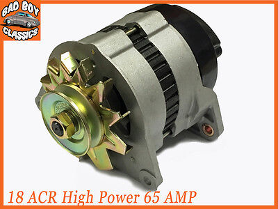 18ACR High Output 65 Amp Alternator Pulley /& Fan Fits FORD PINTO
