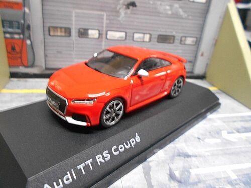 AUDI TT RS TTRS Quattro Coupe 2017 red rot S-Line Dealer IScale Sonderpreis 1:43