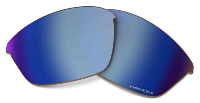 6d9b1d8fe2f Oakley Half Jacket 2.0 Prizm Replacement Lens Deep Water Polarized One Size