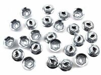 Datsun Emblem & Trim Nuts- Qty.25- Fits 5/32 Studs- 11/32 Hex- 086