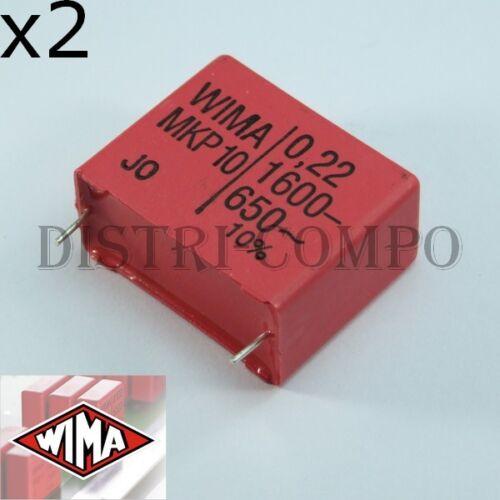 Condensador Wima MKP10 1600V 650V ~ Valor a Elegir Pre-order 5-7 Days