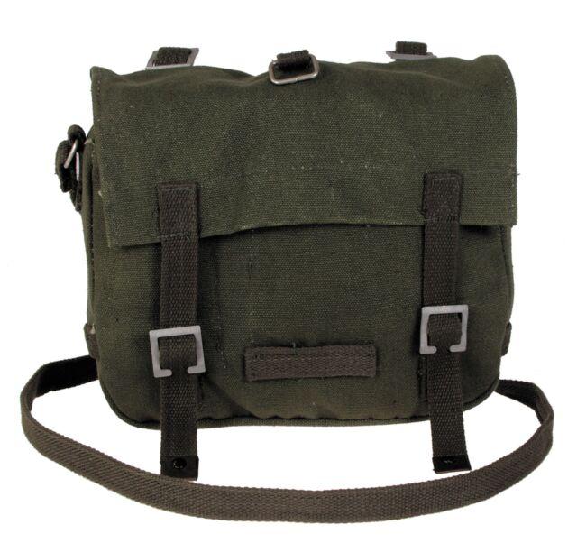 MFH Tasche klein oliv  Modell BW Kampftasche Canvas Brotbeutel Umhängetasche