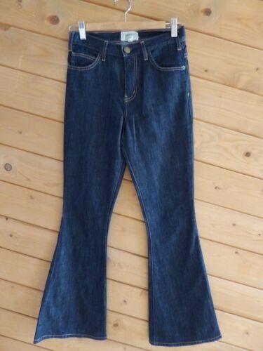 Nuværende Jeans Bottom Women Bell High Blue Flare Elliott Dark Rise 26 BrwBxv