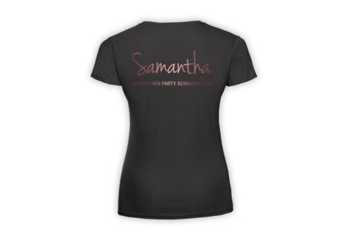 Personalised Party Flocking Legless Original Design Flamingo T Shirt UK SELLER