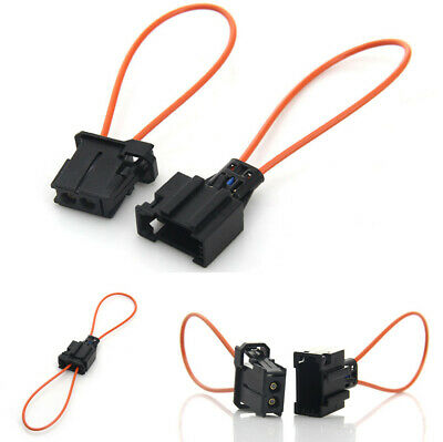 Golden^Li 2 Pack Universal Optical Female /& Male Adapter Loop Bypass Cable for Radio and Audio Mercedes BMW VW Audi Porsche SOS FIX Most Fiber Optic Set 2 13.5cm//5.3in