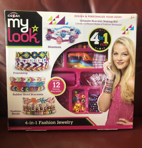 Cra Z Art My Look Ultimate Bracelet Making Kit Jewelry Designer Set New 884920466586 Ebay